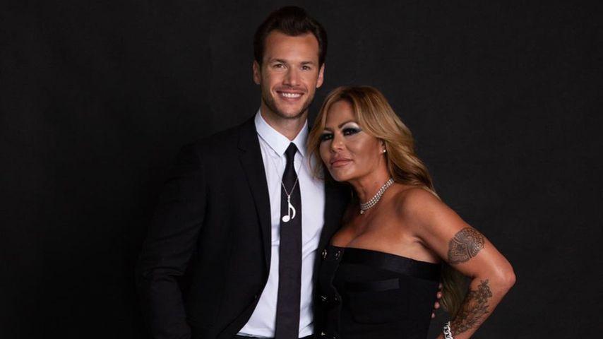 Orianne und ihr neuer Ehemann Thomas Bates im November 2020