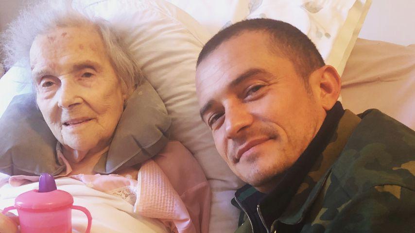 Orlando Bloom bangt mit rührenden Worten um seine Großmutter