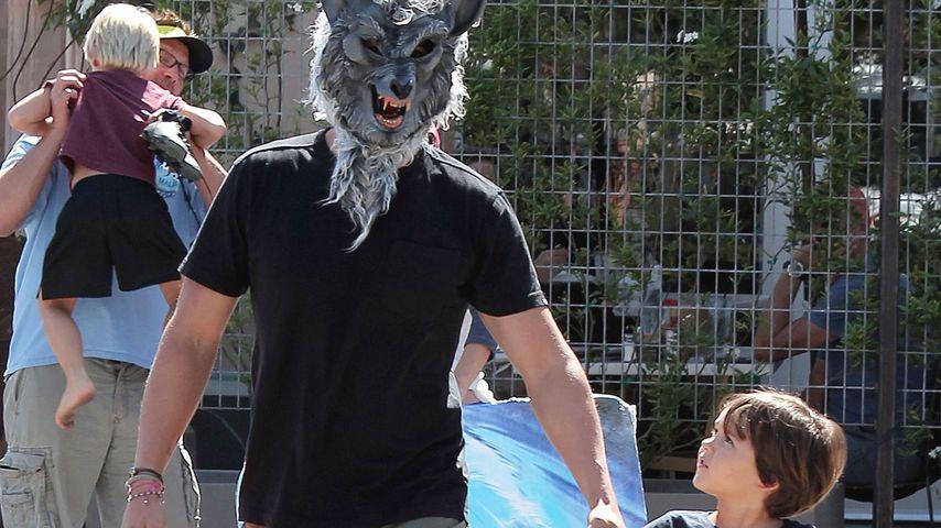 Kinder-Schreck: Orlando Bloom macht den Werwolf!