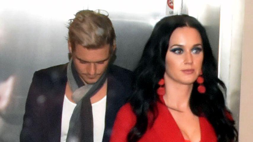 Von wegen Trennung: Katy Perry & Orlando im Truthahn-Fieber