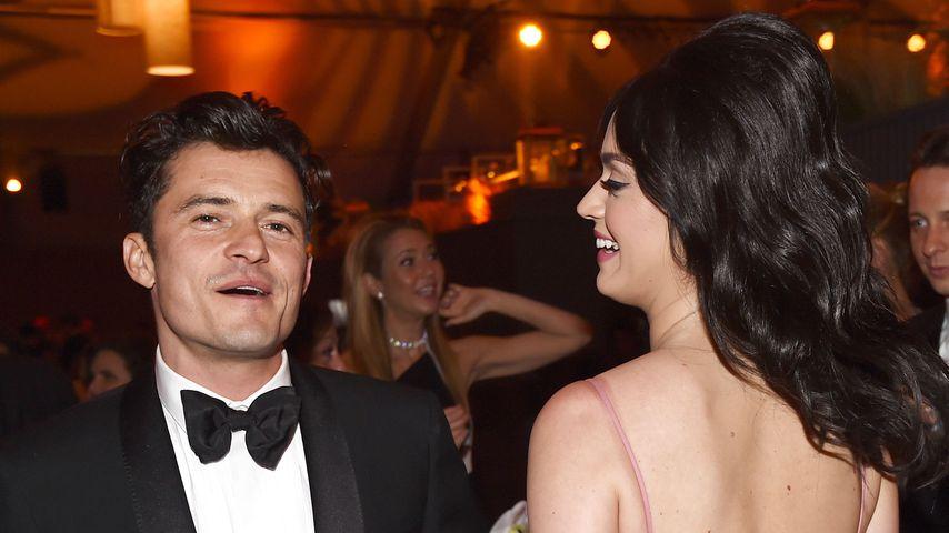 Orlando Bloom und Katy Perry bei den Golden Globes 2016