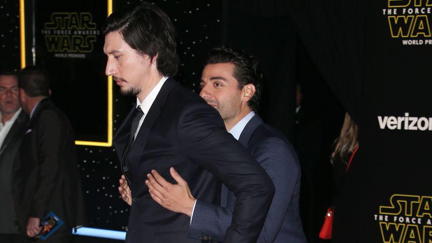Adam Driver und Oscar Isaac