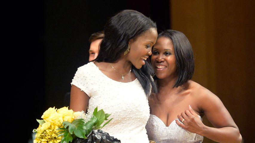 Oti Mabuse mit ihrer Schwester Motsi