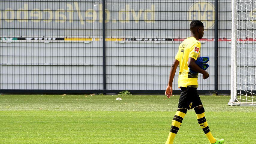 Ousmane Dembélé beim BVB