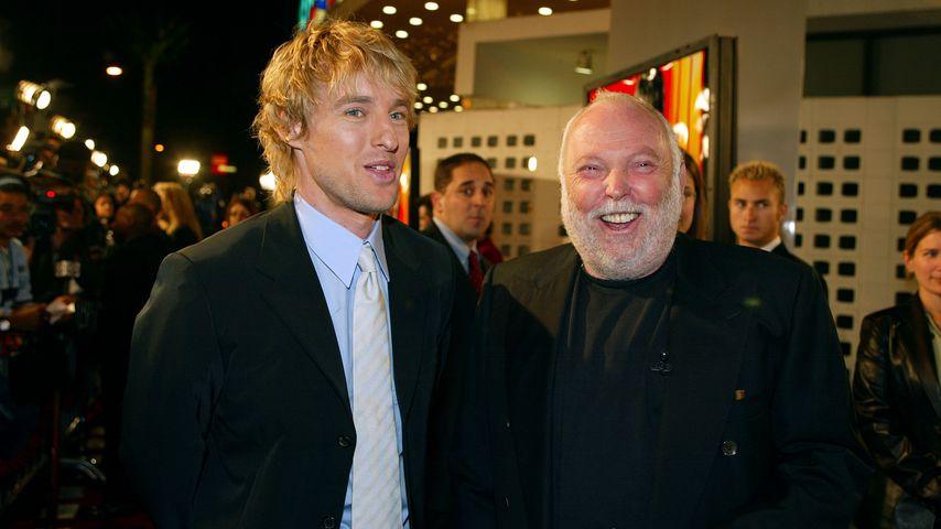 """Owen Wilson und Andy G. Vajna bei der Premiere von """"I Spy"""", Oktober 2002"""