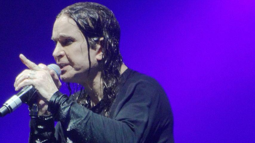 Ozzy Osbourne bei Black-Sabbath-Konzert