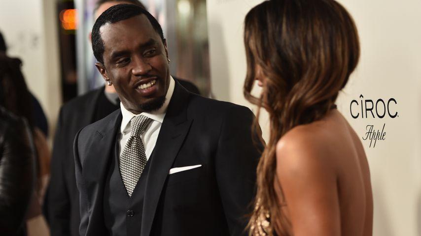 """P. Diddy und Cassie bei der Premiere von """"The Perfect Match"""""""