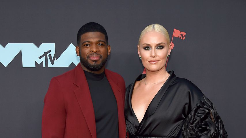 P. K. Subban und Lindsey Vonn bei den MTV Video Music Awards 2019