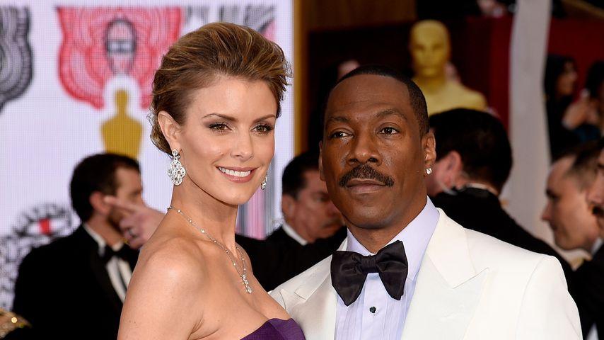 Paige Butcher und Eddie Murphy  bei den Academy Awards 2015