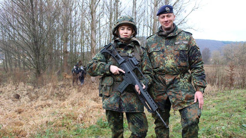 Hartes TV-Experiment: Palina Rojinski wird zur Soldatin!
