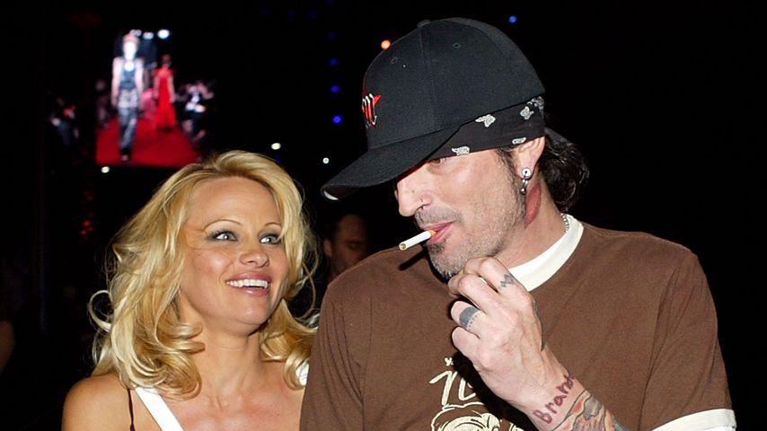 Pamela Anderson und Tommy Lee, 2004