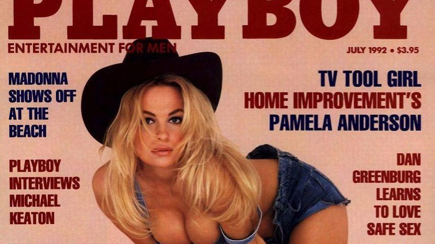 Pamela Anderson, 1992 im Playboy