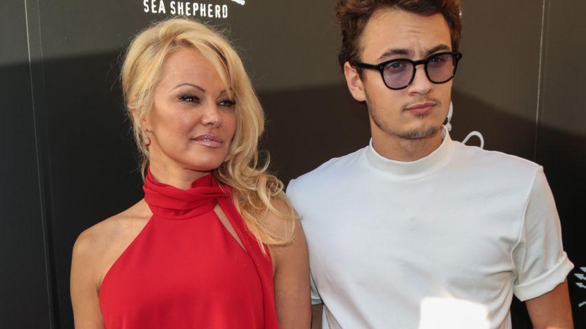 Hottie-Alarm! Pam Anderson zeigt sich mit Sohn Brandon (21)