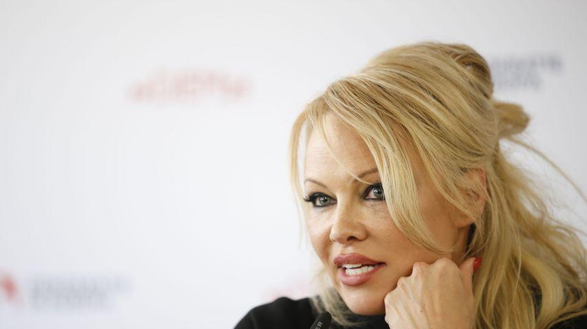 Pamela Anderson im Februar 2019