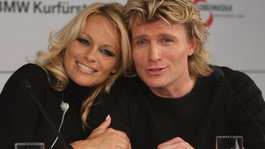 Pamela Anderson und Hans Klok 2008
