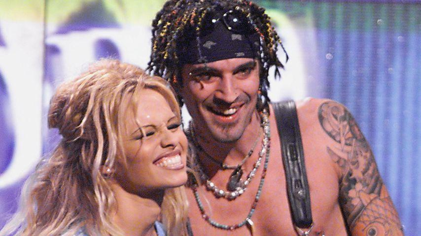Pamela Anderson und Tommy Lee im Mai 1999