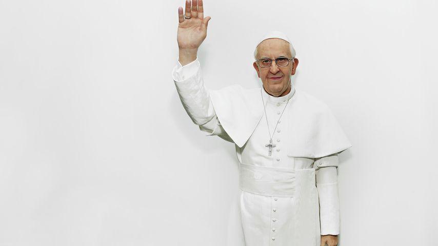 Wachsfigur von Papst Franziskus I.