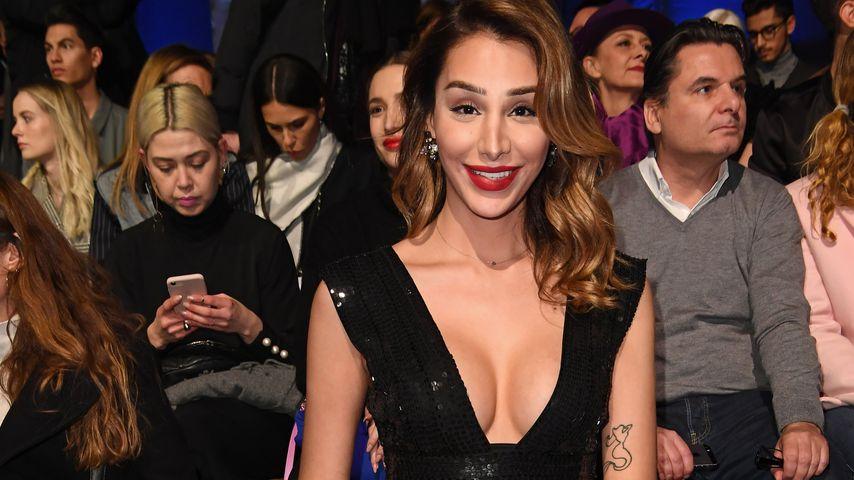 Pari Roehi auf der Mercedes-Benz Fashion Week