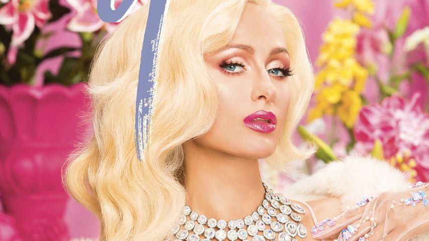 """Paris Hilton auf dem Cover des """"Galore""""-Magazins"""