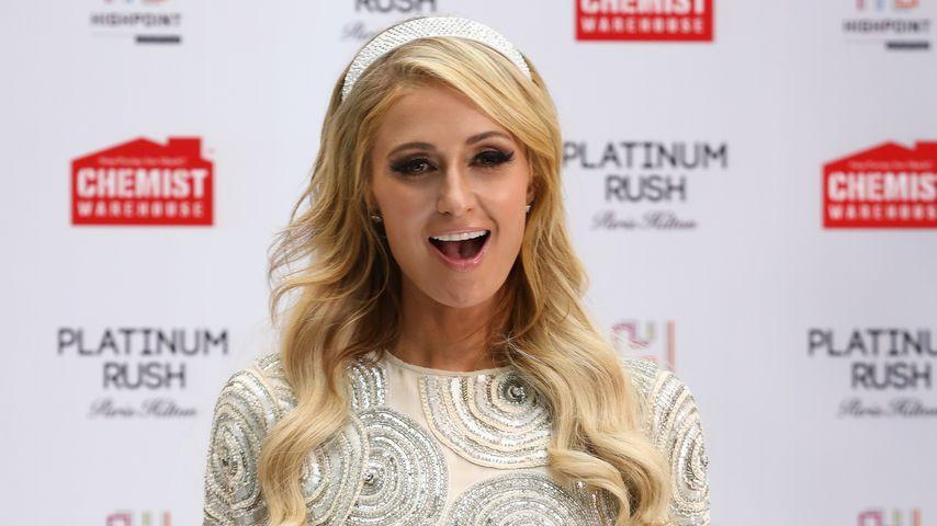 Paris Hilton beim Launch ihres Parfüms Platinum Rush
