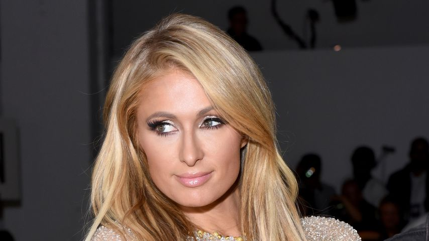 Paris Hilton bei der New York Fashion Week