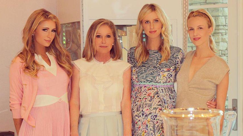 Perfekte Familie? Hilton-Girls sehen alle aus wie Barbie!
