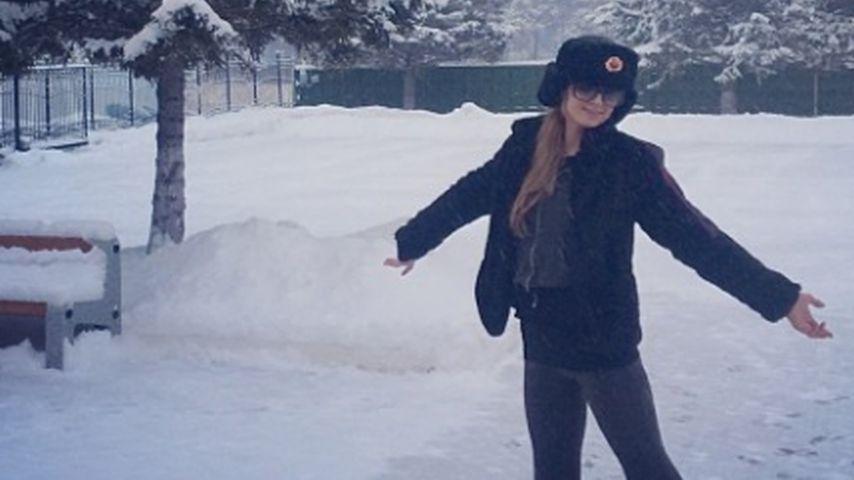 Winter-Montur! Erkennt ihr dieses It-Girl?