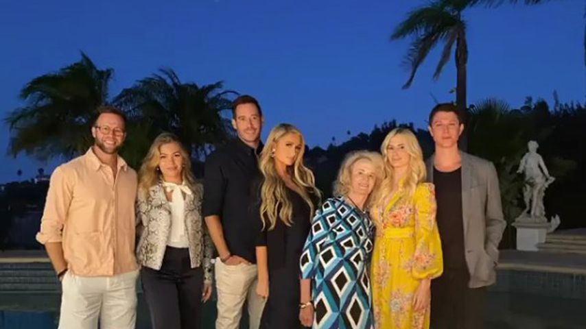 Total happy: Paris Hilton mit Carter Reums Familie unterwegs