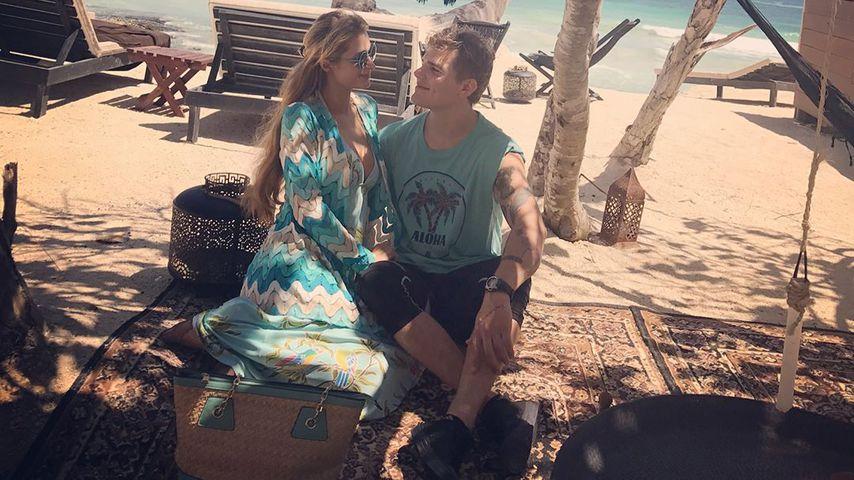 """Paris Hilton schwärmt: Freund Chris Zylka ist ihr """"Paradies"""""""