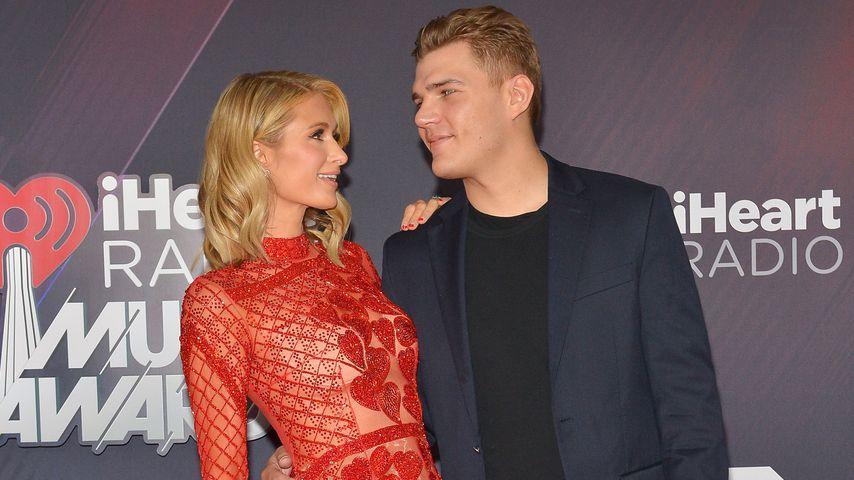 Hotelerbin Paris Hilton und Schauspieler Chris Zylka
