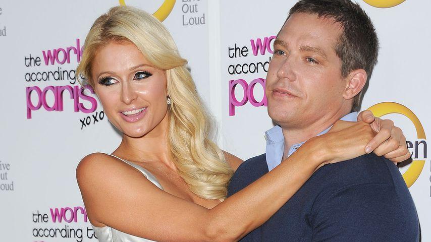 Paris Hilton und Cy Waits auf einem Event in Hollywood im Mai 2011