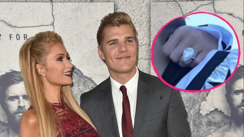 Fetter Klunker: Das ist Paris Hiltons Glam-Verlobungsring!