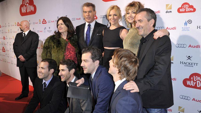 Pierce Brosnan, Pascal Chaumeil und Toni Collette