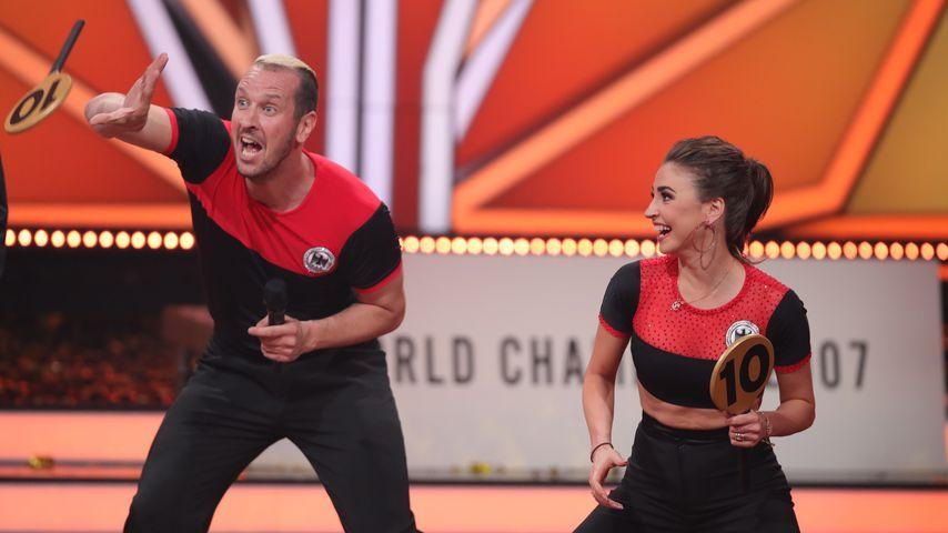 """Pascal Hens und Ekaterina Leonova bei der fünften """"Let's Dance""""-Show"""