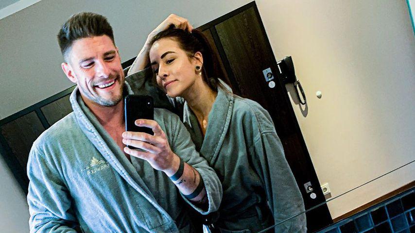 Pascal Kappés mit seiner Freundin Lea, Juni 2020