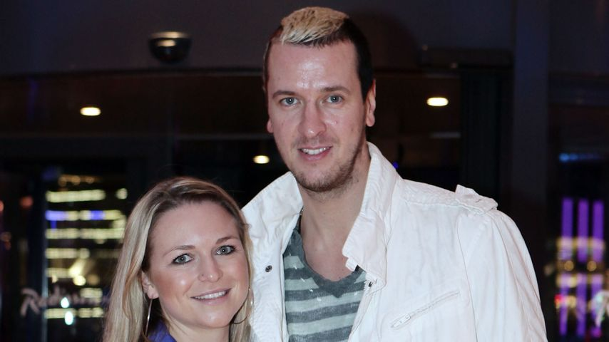 Pascal und Angela Hens im Dezember 2009 in Hamburg