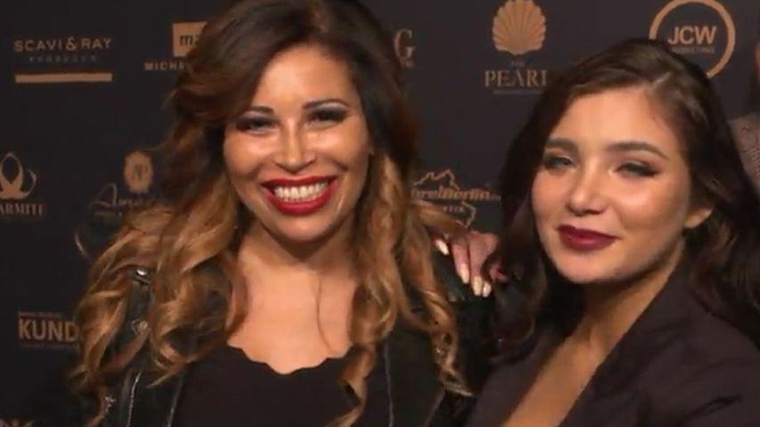 Patricia Blanco und Melody Haase bei der Fashion TV Modelnacht 2018