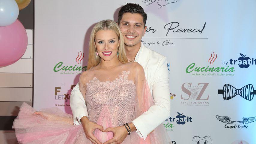 Patricia Belousova i Alexandru Ionel na przyjęciu dla dzieci, wrzesień 2021