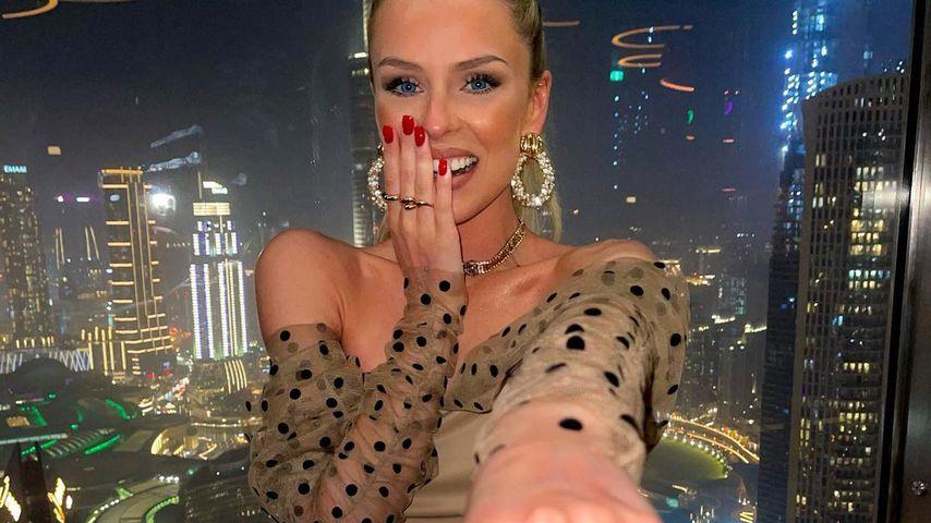 Patricija Belousova in Dubai, Juni 2021