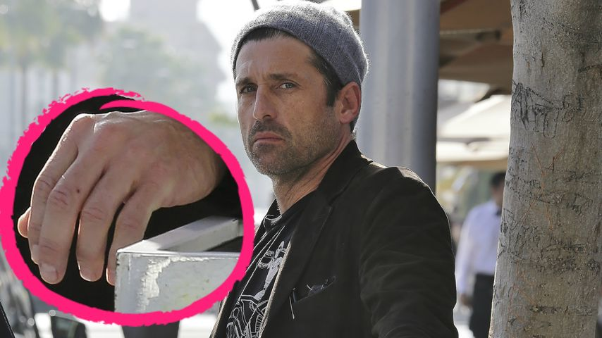 Trauriger Patrick Dempsey: 1. Foto ohne Ehe-Ring!