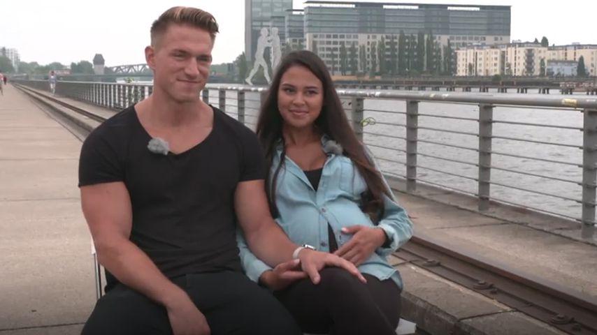Kurz vor Geburt: BTN-Patrick und Lea haben Mega-Respekt!