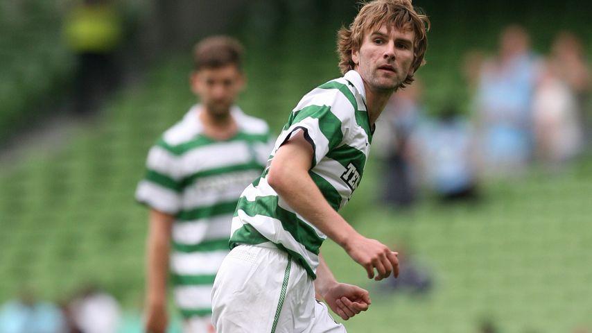 Patrick McCourt bei einem Fußballmatch 2011