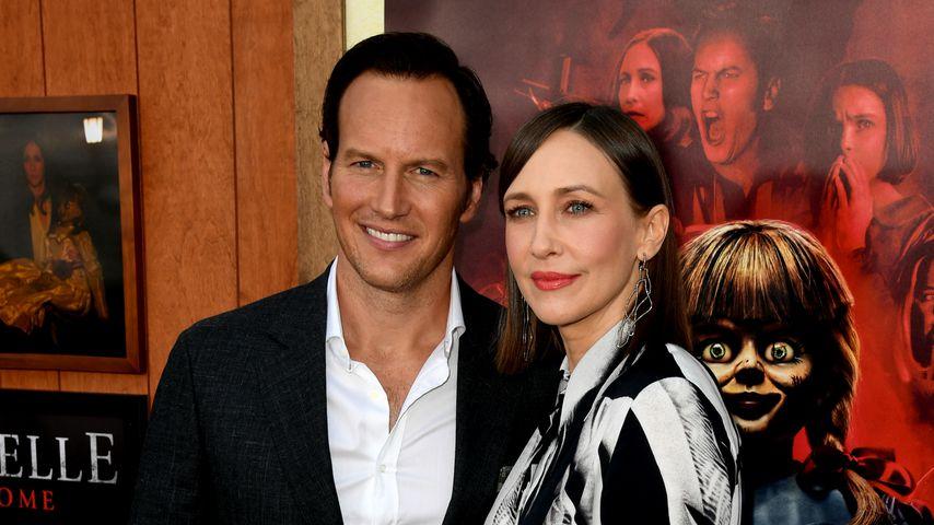 Patrick Wilson und Vera Farmiga bei einer Filmpremiere in Westwood, Kalifornien