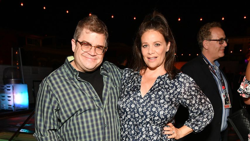 Patton Oswalt und Meredith Salenger, Comic-Con-Party in San Diego 2017