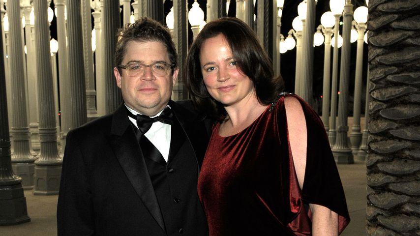 """Patton Oswalt und seine Frau Michelle bei der """"LACMA Art and Film Gala"""" 2011 in LA"""