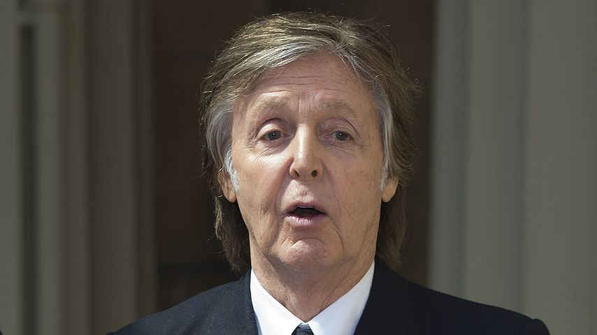 Paul McCartney im Buckingham Palast, Mai 2018