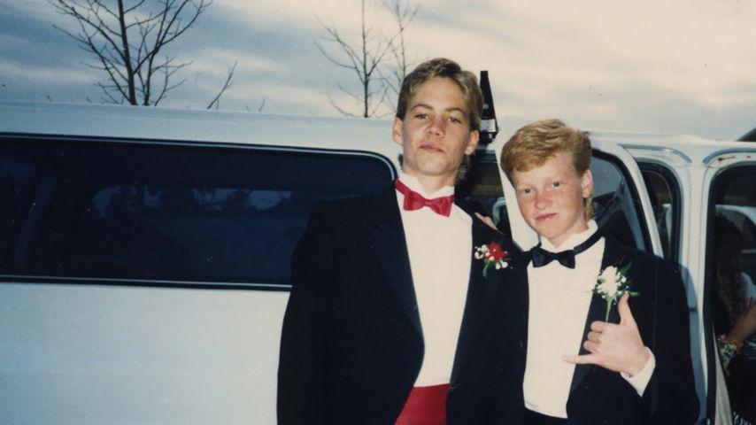 Paul Walker mit seinem Jugendfreund Andy Muxlow