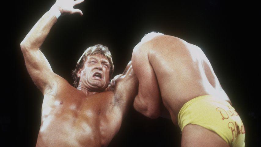 Die Wrestler Paul Orndorff und Dustin Rhodes