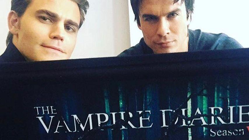 """Paul Wesley und Ian Somerhalder, bekannt aus """"Vampire Diaries"""""""