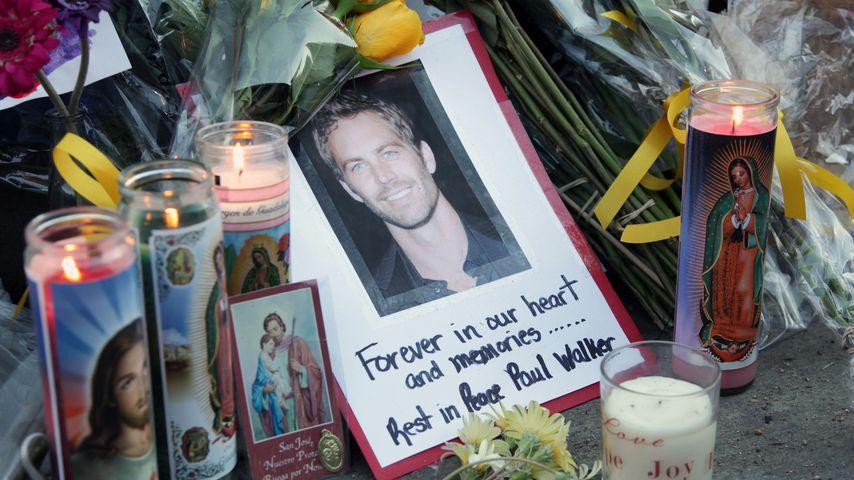 Paul Walker Gedenkstätte am Unfallort 2013